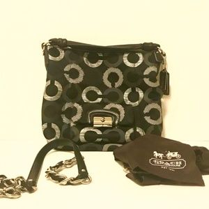 Coach Bags - Coach Kisten Op Art Embroidered Hobo Bag